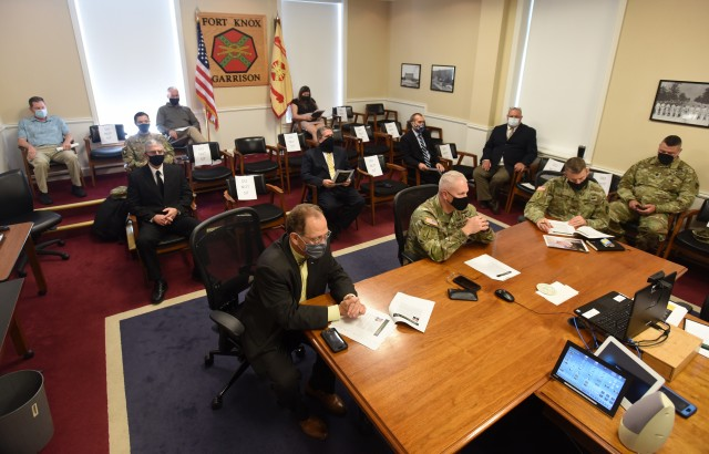 Fort Knox Energy Program receives another award during Army video-teleconference ceremony