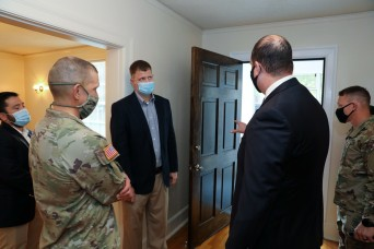 Army's top enlisted Soldier says leader involvement vital to improving Family housing
