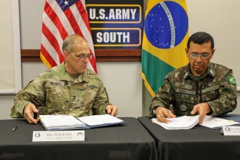 36th annual U.S.-Brazil army-to-army staff talks secure readiness, friendship between two partners
