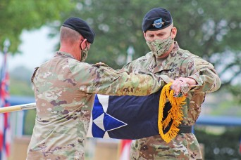 III Corps completes successful mission, uncases colors
