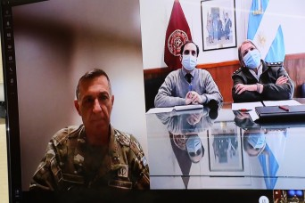 Army South coordinates COVID-19 lessons learned exchange with Brooke Army Medical Center and Argentine Army