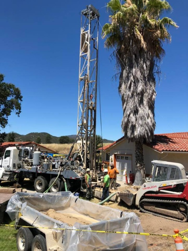 Geothermal pumps were installed in all the housing areas, 2019. Courtesy photo by Carly Bell.