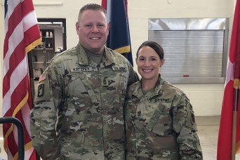 Married to the job: two first sergeants tackle leadership