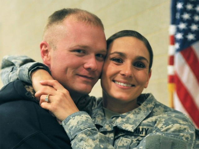 Military spouses sacrifice a lot to help support their spouse's career.  The mobile nature of military life often has families moving from one duty location to another making it more difficult for spouses to have a career of their own.