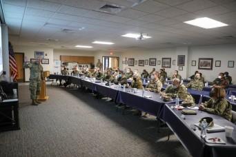 Foreign military attachés visit Kansas National Guard