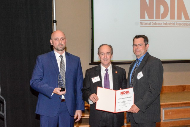 Recognition of Cybersecurity Team by NDIA