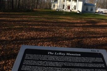 Fort Drum community members let their imaginations roam during Haunted LeRay history tour