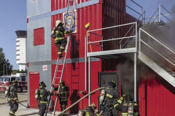 Belvoir Firefighters sharpen readiness in new fire training tower