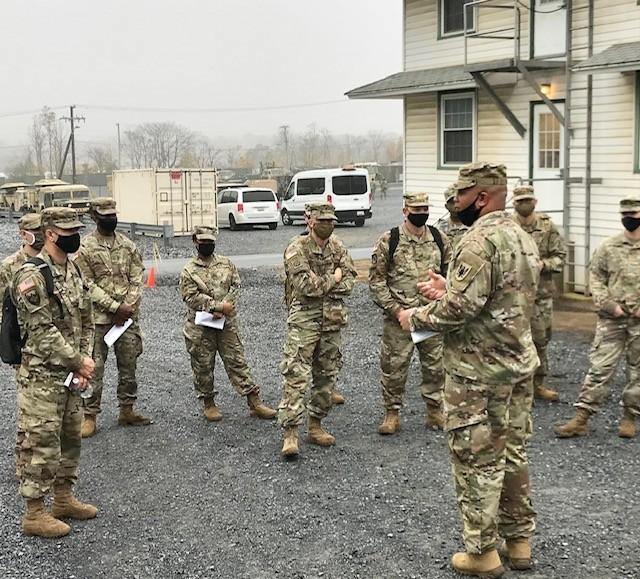 Colorado Army Aviation Brigade mobilizes to Pennsylvania for Warfighter 21-2