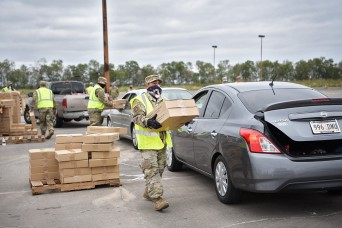 Louisiana Guard continues to provide support after Zeta