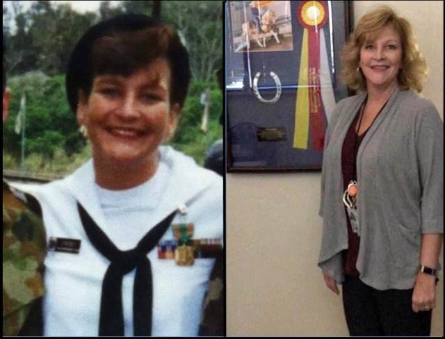 Tanya Allbritten, a Navy veteran, now serves as the G-1 chief of training for U.S. Army Aviation and Missile Command.