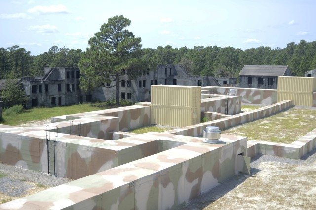 The new subterranean training facility at Fort Bragg provides warfighters with realistic underground combat training.