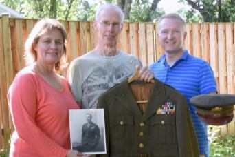Uniform belonging to veteran of both world wars returned to family