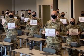 Georgia National Guard trains company and platoon leaders