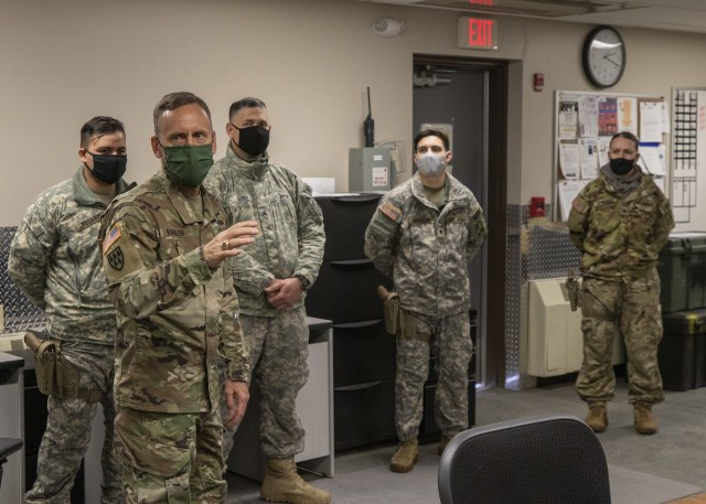 Army Space and Missile Defense Command leader visits Rugged Professionals of Fort Greely