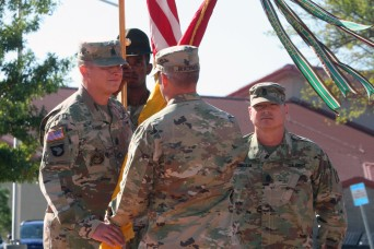 434th Field Artillery Brigade welcomes new CSM at Fort Sill