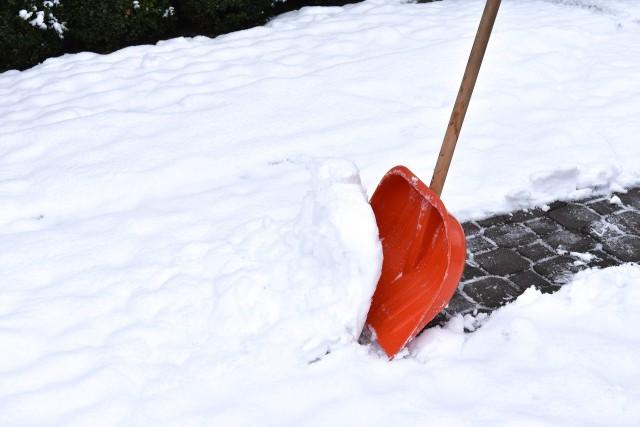 Snow Shovel Stock Image