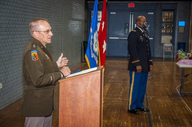 Miller makes history with promotion to CW5