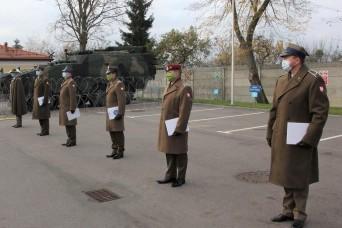 Nov. 11 at the Multinational Division Headquarters