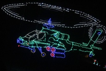 Fort Hood's 'Nature in Lights' illuminates holiday season in Central Texas