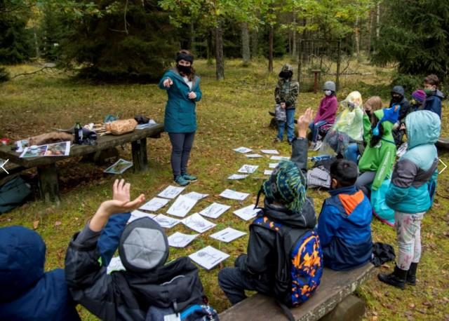 Grafenwoehr Elementary School Field Trip Autumn 2020
