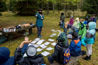 Grafenwoehr Elementary takes environmental learning out of the classroom