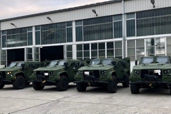 Montenegro purchases U.S. tactical vehicles