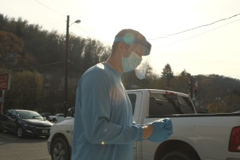 West Virginia National Guard helps ramp up COVID-19 testing