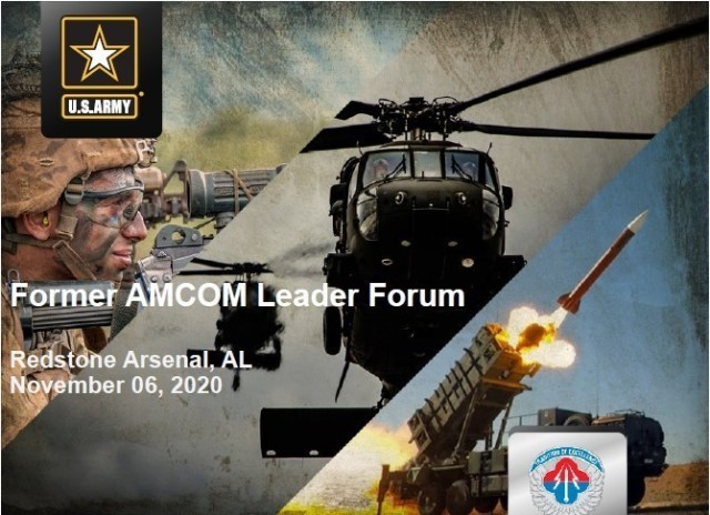 Past and current U.S. Army Aviation and Missile Command leaders connected virtually Nov. 6 for an update on progress on the three lines of effort in the FY20-21 AMCOM Campaign Plan.