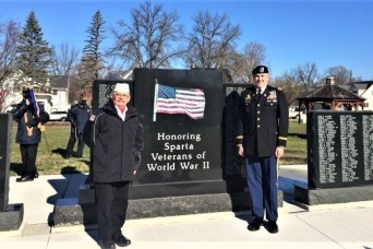 Fort McCoy Garrison Commander supports local Veterans Day observance
