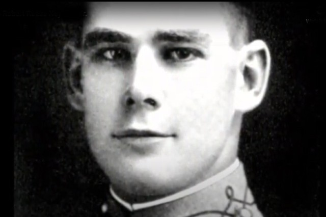 Robert Reese Neyland poses for a photo during his time as a cadet with the U.S. Military Academy, West Point, N.Y., 1912 to 1916.