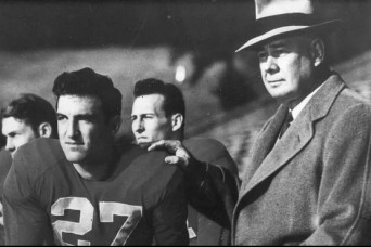 Tennessee football coach served in both world wars