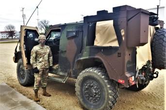 Photo Essay: Fort McCoy leadership visits JLTV training