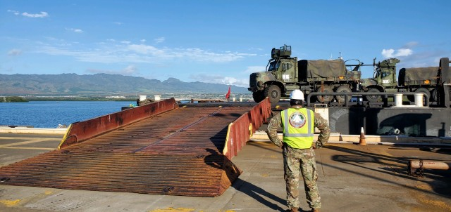 599th Trans. Bde. conducts quick turnaround at West Loch