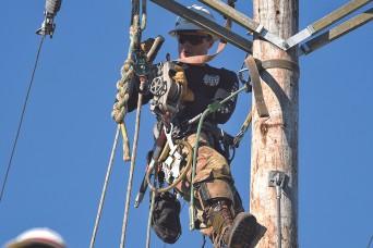 Storm Night, Lineman's Rodeo test Soldiers attending Prime Power Distribution Course
