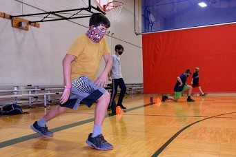 Fort Leavenworth Youth Sports clinics keep children active