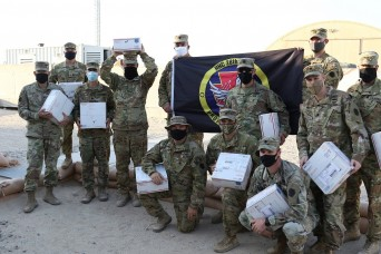 Military family member raises funds, sends 154 care packages to deployed Soldiers