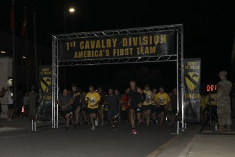 The 1st Cavalry Division Hosts Virtual Army Ten-Miler