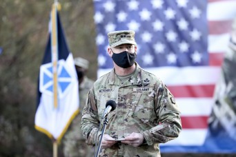 V Corps establishes its forward headquarters in Poland