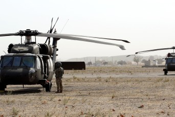 40th Combat Aviation Brigade returns to Camp Roberts for pre-mobilization training