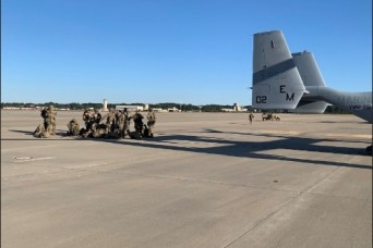 82nd Airborne Division Conducts First Ever Osprey Air Assault