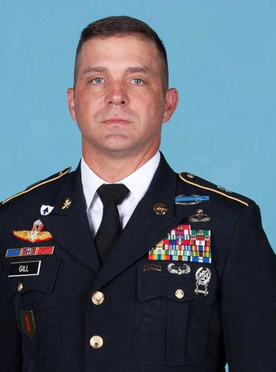 Command Sgt. Maj. Herbert Gill