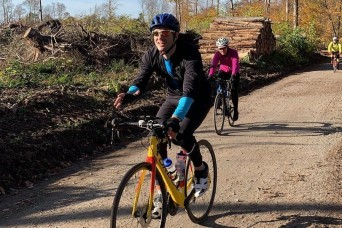 1000 km biking club helps Soldier living with arthritic condition