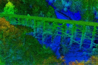 The route ahead: Geospatial engineers building 3D models in complex environments