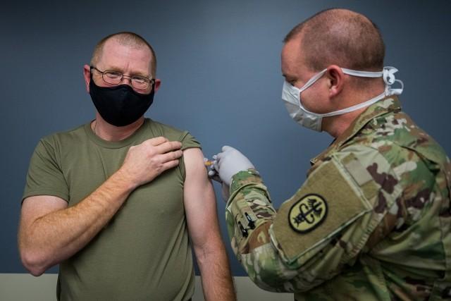 CSM getting flu shot