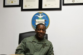 'Active duty provides stable foundation,' says chaplain