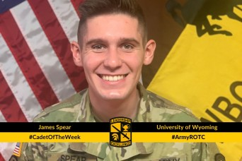 Cadet of the Week: James Spear