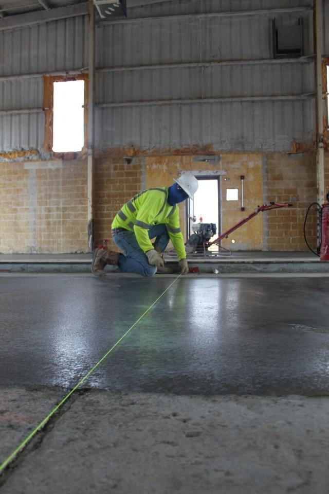 Motor Pool Cement Work