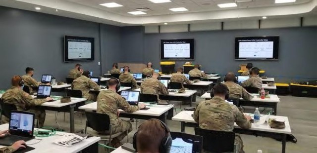 U.S. Army Soldiers from 2nd Armored Brigade Combat Team, 1st Cavalry Division, participate in a Virtual Experiment in the Army's Optionally Manned Tank program at the Detroit Arsenal in Warren, Mich., Sept. 15, 2020. The Soldiers provided input that will help to inform the development of the next tank for the Army.