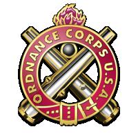 U.S. Army Ordnance Corps logo